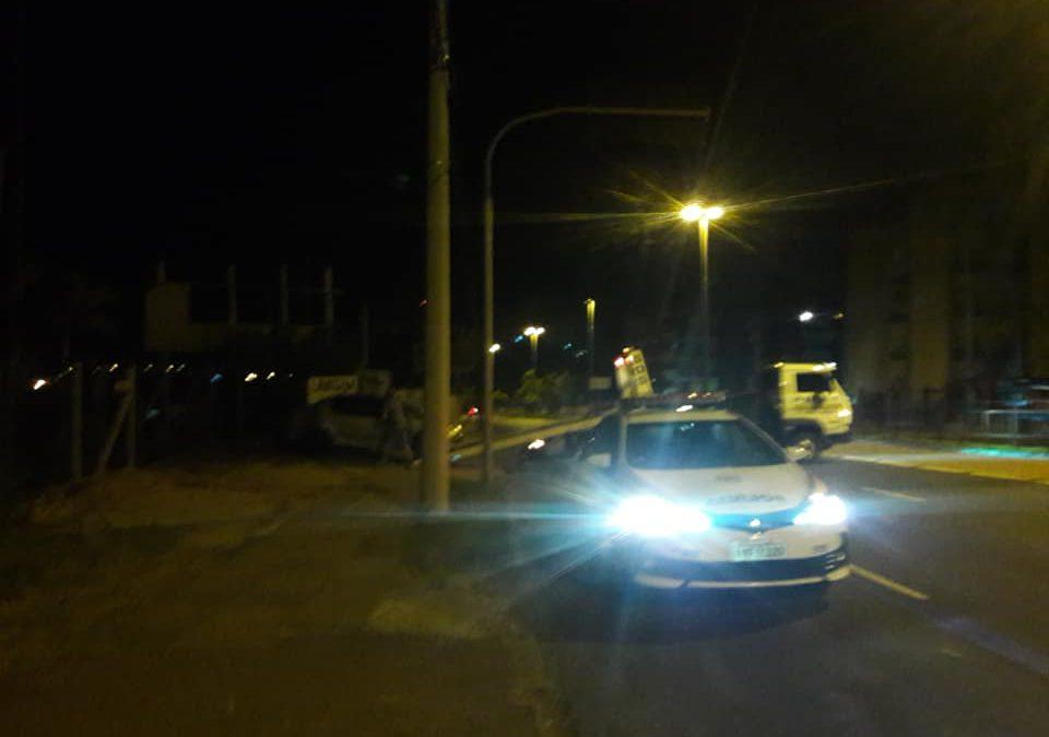 Veículo bloqueado em porto Alegre